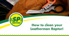How to Clean your Leatherman Raptor!