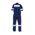 Ambulance Coverall Short Sleeve - Navy Blue - Medium